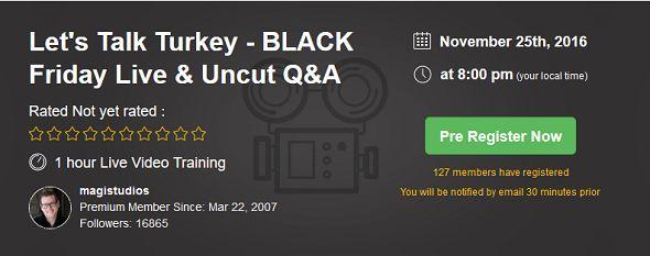 Black Friday Q&A bonus
