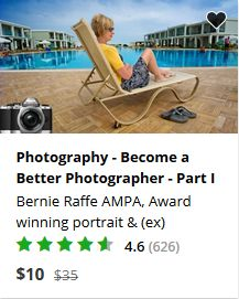 Udemy Photograher