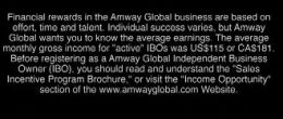 amway income statement