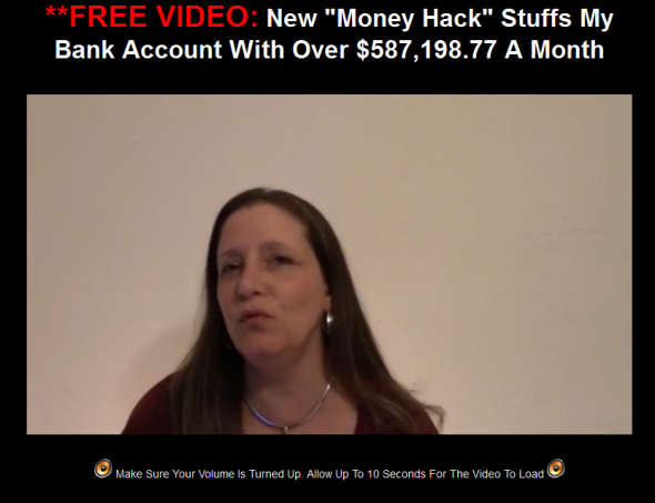 Screenshot from EZ Cash Creator