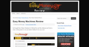 Easy Money Machines Review site