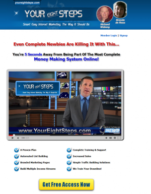 Your Eight Steps sales page
