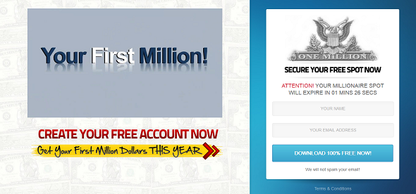 your first million website