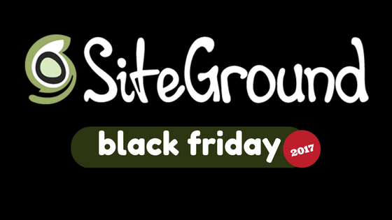 SiteGround Black Friday 2017