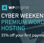 WP Engine 2017 Black Friday / Cyber Monday Deal