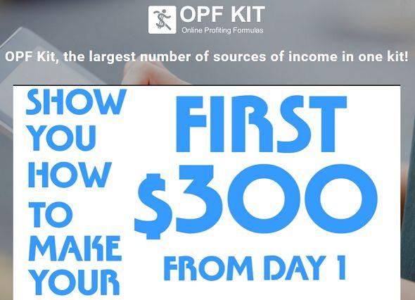 OPF Kit homepage