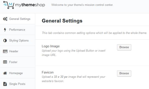 MyThemeShop Theme Options