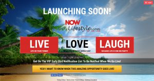 Now Lifestyle Prelaunch site