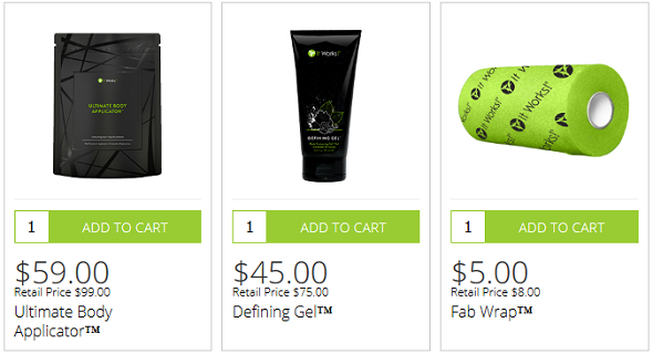 it works body applicator pack