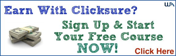 Earn with Clicksure