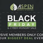 Aspen Grove Studios Black Friday Deal 2017