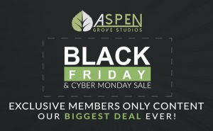 Aspen Grove Studios Black Friday