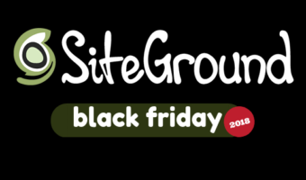 SiteGround Black Friday / Cyber Monday Deal 2018