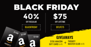 Themify Black Friday 2018