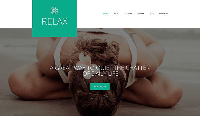 Relax WordPress Theme
