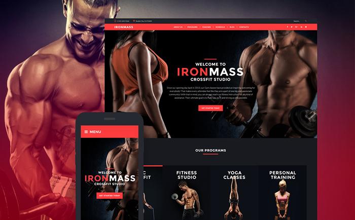 IronMass WordPress Theme