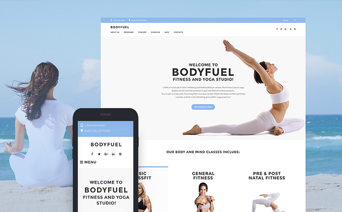 BodyFuel WordPress Theme