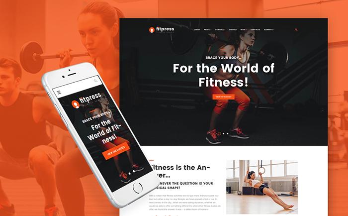 Fitpress WordPress Theme