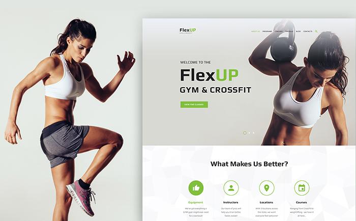FlexUp WordPress Theme
