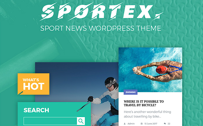 Sportex WordPress Theme