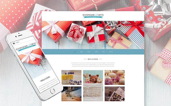 Handmade & Gifts Joomla