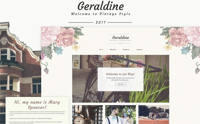 Geraldine WordPress Theme