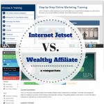 Internet Jetset vs Wealthy Affiliate - Which is Better?