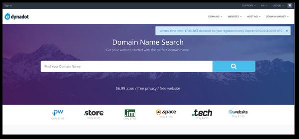 Dynadot domains