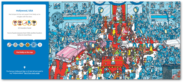 Finding Wally