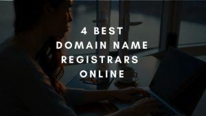 4 Domain name Registrars