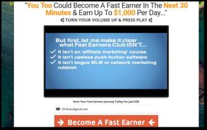 fast earners club