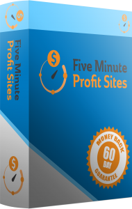 Five Minute Profit Sites box