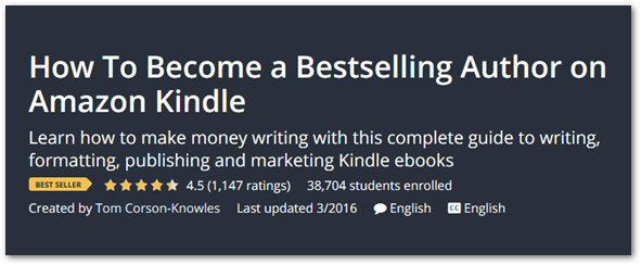 Kindle Author course