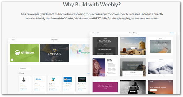 Weebly Apps