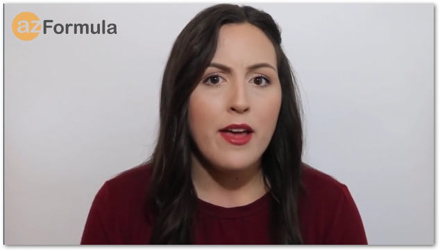 AZ Formula Testimonial lady