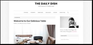 Daily Dish Pro theme