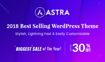 Astra pro addon black friday