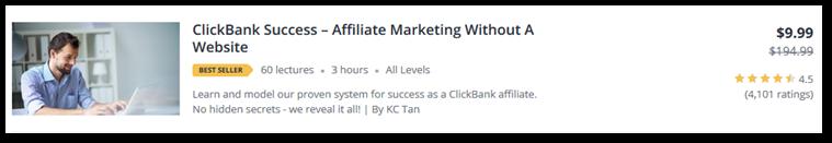 Clickbank course