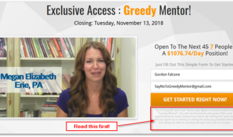 greedy mentor promo