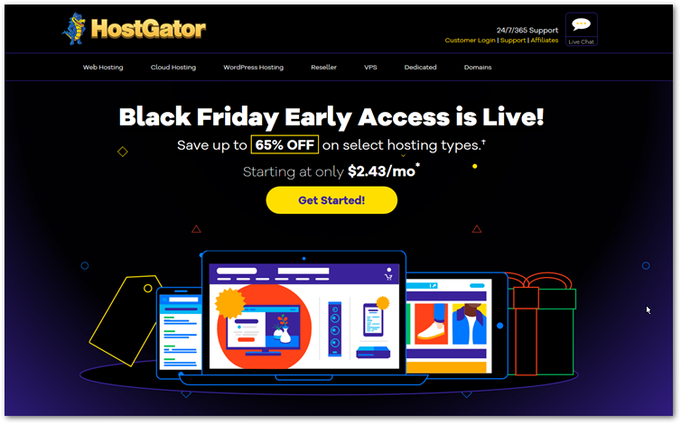 Hostgator Black Friday 2019