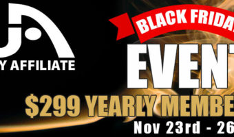 Wealthy Affiliate Black Friday 2018 banner