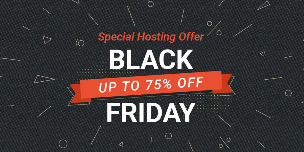 Siteground Black Friday 2019 banner
