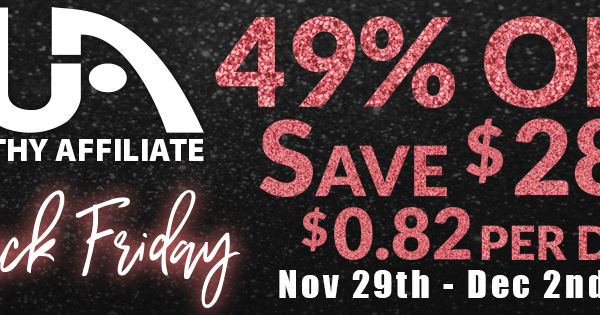 Wealthy Affiliate Black Friday / Cyber Monday 2019 Deal