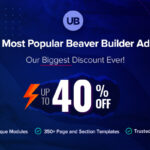 Ultimate Addons for Beaver Builder Black Friday 2020 Discount